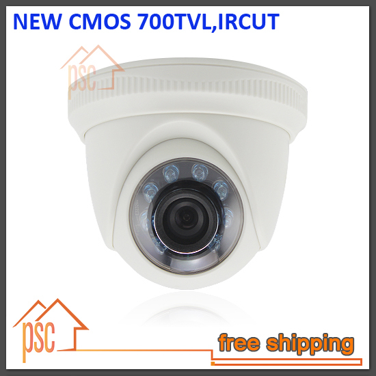 "1/3"" CMOS 700TVL IR Mini Indoor Dome CCTV Camera with 10M IR range, 3.6mm lens and ICR(China (Mainland))"