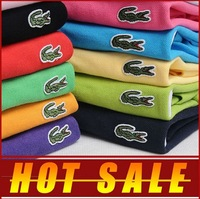 H1003 Have logo New 2013 autumn-summer brand t shirt men Designer cotton polo shirt casual t shirts men