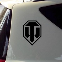 Free Shipping 2xCar Styling SUV World of Tanks Reflective Sticker Car Decals For All Cars Toyota Hoda BMW Cruze Sticker
