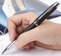 Stationery office supplies IM parker ballpoint pen school supplies black frost silver clip parker pen roller pen cute