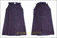 Top Quality 11000# 100% Cotton Blue Shoaizome Hakama Kendo Iaido Aikido Martial Arts Uniform Sportswear Kimono Free Shipping