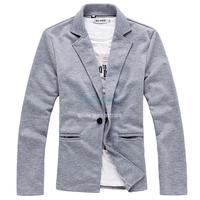 Top Selling 2014 New Arrival Fashion Men's Suit One Button Men Blazer Casual Slim Fit Men's Clothing 19264