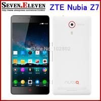 "Original ZTE Nubia Z7 Mini Max 4G LTE Mobile Phone Qualcomm MSM8974AA 2.0GHz 5.0"" 1920x1080 2GB RAM 16GB 13.0MP WCDMA Dual SIM"
