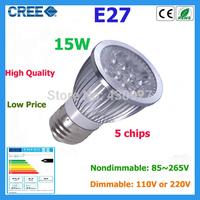 Factory Sale 1pcs led bulb E27 15w 12W 9W warm white cold white 110V 220V Dimmable led Light led lamp led spotlight bulb lamps