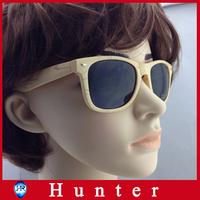 Hot Sale Imitation Wood Sunglasses Women Plastic Frame Oculos de sol Wood Grain Sun Glasses Wayfarer Eyewear 3 Pieces ESWD4002L