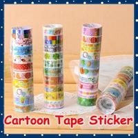 [FORREST SHOP] Kawaii Plastic Cartoon Decorative Tape / DIY Washi Masking Tape / Adhesive Deco Scrapbooking Stickers FRS-39