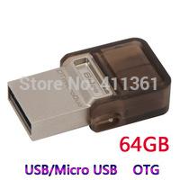 64GB USB OTG USB Flash Drive For Samsung Android Mobile Phone Tablet PC Pen Drive OTG Micro USB Pendrive