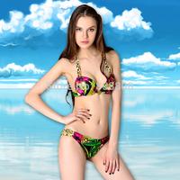 Free Shipping Drop Shipping Factory Wholesales Bikini Bandeau Colorful Swimwear Ladies Swim