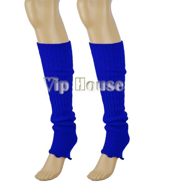 Женская дамы вязать полосой гетры чулочно-носочных брюк палец перчатки мути использования 7870 50