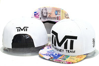 TMT The Money Team Snapback hats caps TBE usd dollar star flag fashion men adjustable baseball cap shipping in box freeshiping