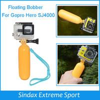 PP Material Bobber Floating Handheld Monopod Stick Floaty Grib w/ Wrist Strap for Go pro Hero3+ Hero2 3