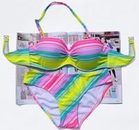 plyae mnoeestvo eenschin купальники бикини пуш-ап бикини купальник 2015 новые купальники кусок Купальники мода
