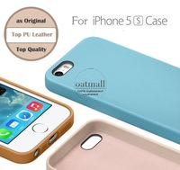 Ultra Slim PU Leather Case for iPhone 5 5s cases Original case for iphone5 Back cover with Official package New 2014 Arrival