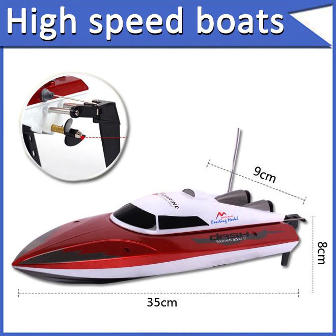 Spedizione gratuita più dono rc barca 40km/h cavallo doppio dh 7.009 barca bambino telecomando motoscafo carica super grande barca giocattolo