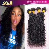 5A Brazilian virgin hair deep curly Rosa hair products 4pcs/lot Brazilian curly virgin hair Cheap brazilian human hair bundles
