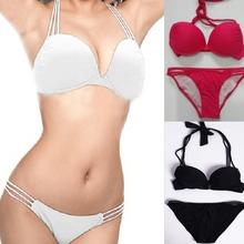 2014 new women vs push up bikini set  women swimsuit woman bathing suit  piece swimsuits women swimwear(China (Mainland))