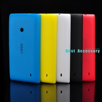 100% NEW Original Housing Back Battery Case Cover for Nokia Lumia 520 Hard Shell Skin Replacement Back Cover with Side buttons