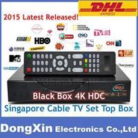 2015 Singapore starhub tv Receiver box Blackbox 4K HDC Qbox 4000 hdc upgrade from Blackbox hd-C808 starhub cable naga3