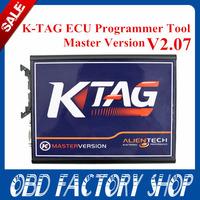 free shipping 2015 newest KTAG K-TAG ECU Programming Tool Master V2.07 KTAG K TAG ECU Chip Turning Lifetime free update
