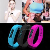 3 Color Smart Sports Bracelet original Fitbit flex health records pedometer step counter wireless sleep bracelet B2 SV003653