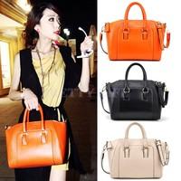 2014 Best Selling New Fashion Leather Lady Handbag Shoulder Bag 6 Colors Tote Purse Women Messenger Bag B12 SV001545