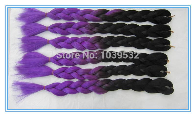 ... braid-hair-ombre-color-hair-extension-use-100-Kanekalon-or-toyokalon