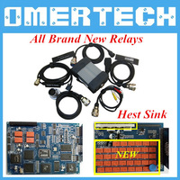 DHL Free Shipping Star C3 with All New Relays Full Set Diagnosis C3 Tester Star C3 Multiplexer Without HDD C3 Star  !!!