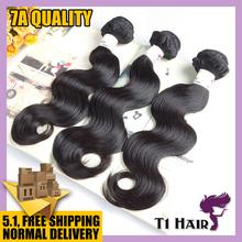 T1 Hair Products 7A Grade Brazilian Virgin Hair Body Wave,Brazilian Hair Weave Bundles 12-26 Gaga Remy 100 Human Hair Extensions(China (Mainland))