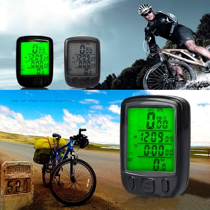 2014 Brand New Digital LCD Cycle Cycling Bicycle Bike Computer Odometer Speedometer bike Velometer 22(China (Mainland))