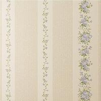 Rose romantic flower/flowery stripe striped/stripy/strip children's/girls pink/blue floral Non Woven wallpaper for bedroom