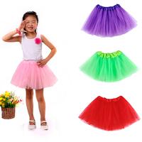 2015 Baby Tutu Skirt New Pettiskirt Summer Kids Saia Girls Skirt Tutus Skirt Girl Princess Pink Tutu Skirt
