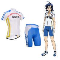 Yowamushi Pedal HAKOGAKU cycling jersey short sleeve cycling clothing men Cycling Bib Shorts