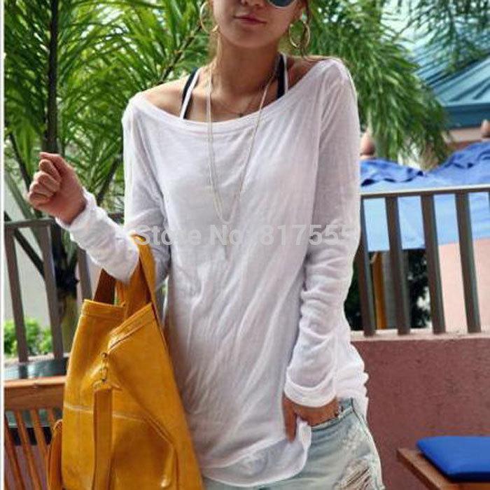 Женская футболка Allegra K camisetas femininas 50 женская футболка brand camisetas ropa mujer camisetas y ballinciaga 2015 ld226
