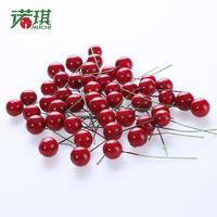 10 bag red fruit cherry fruit Christmas decoration christmas tree decoration 2cm