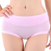 Women Bamboo Fiber Spandex Seamless Briefs Women Underwear Panties Underpants Knickers Plus Size L XL XXL XXXL