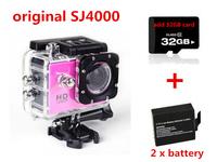 Original SJ4000 Action Camera Diving 30M Waterproof Camera 1080P Full HD Helmet Camera Underwater Sport Cameras Sport DV