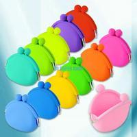 EQ6008 NEW MINI women wallets fashion women messenger bags silicone coin purse baby toys children gift