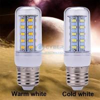 Bright E27 110-130V LED Blub SMD 5730 36 12W LED Lamp Cool/Warm White B21 SV009688