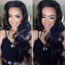 Top Grade 7A Brazilian Glueless Full lace Human Hair Wigs Brazilian Virgin Hair Body Wave Lace Front Wig for Black Women(China (Mainland))