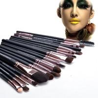 2014 HOT Professional 20 pcs Makeup Brush Set tools Make-up Toiletry Kit Wool Make Up Brush Set free shipping SV19 SV009567