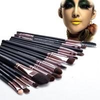 Professional 20pcs Make Up Brushes Makeups Facial Cosmetics Kit Beauty Bags Set Makeup SV19 SV009567