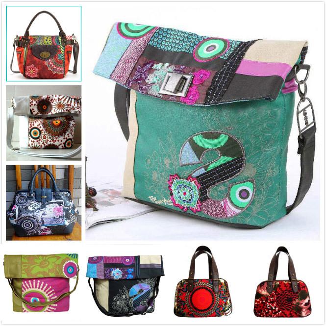 AliExpress.com Product - Hot Sale New 2014 Desigual Fashion Casual Print Women Handbag Shoulder Bags Women Messenger Bags desigual sac Bolsas
