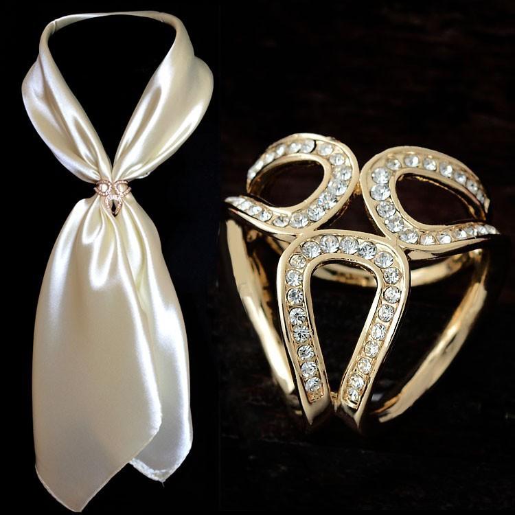 accessoires de bijoux or et argent fleurs 2014 Écharpe buckle3d broche fleur de mariage bon marché de noël épingles épinglettes