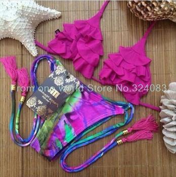 2015 новый сексуальный пляж купальники дамы бикини женщин купальник triangl купальники бикини