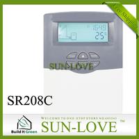 SR208C Solar Controller Regulator,Solar Water Heater Controller,Solar Thermal Controller,110V/220V,LCD Display,Free Shipping