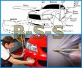 12''- Auto Car Interior Exterior Scratch Paint Protection Film Cover Sticker(3-Layer Film) - Free Shipping.