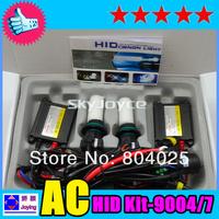 35W HID Hi/lo Bixenon  Kit H4 H13 9004 9007 6000K hid kit  Freeshipping to Japan UNID1619CX2013