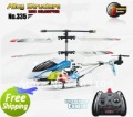 Free shipping jxd 335 22cm 3.5ch rc helicopter gyro flashing LED not with color box