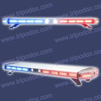 """48"""" High-power Linear LED Warning Lightbar, 2pc Alley lights and 2pc Take-down lights, more than 16 knids of flash patterns"""