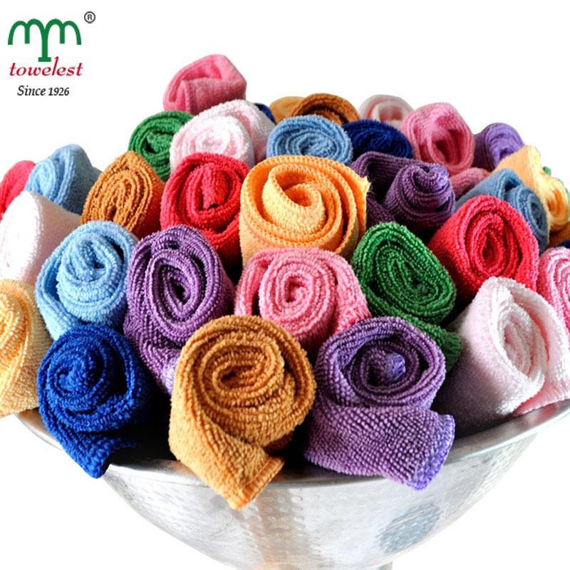 New 2014 bulk 20pc/lot 10x10'' Microfiber Towel kitchen towels Lens/Moniter/Screen/Glasses wipes car cloth toallas Freeshipping(China (Mainland))